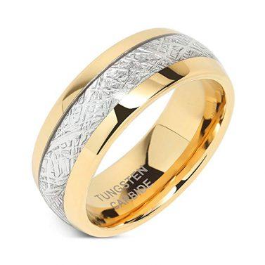 100S JEWELRY Tungsten Wedding Band
