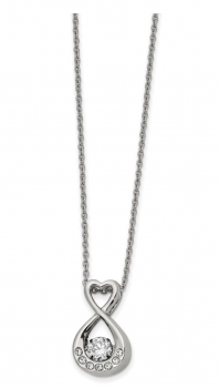 Black Bow jewelry Co. Stainless Steel Infinity Necklace