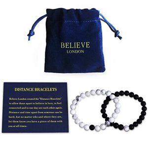 Believe London Distance Bracelet Set