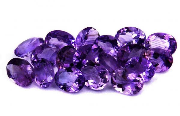 Diamond alternatives: Amethyst stones