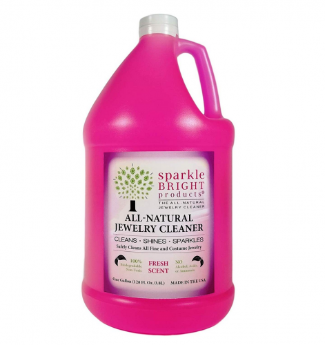 Sparkle Bright All-Natural Jewelry Cleaner Solution