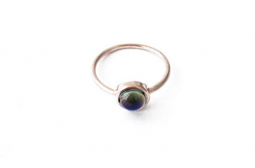 HONEYCAT Mood Ring in Gold, Rose Gold, or Silver