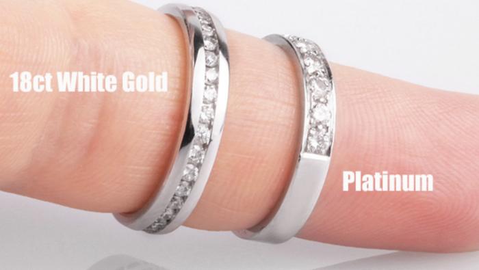 18ct white gold vs platinum