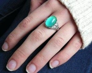 mood ring color - green