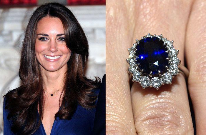 Kate Middleton's sapphire ring