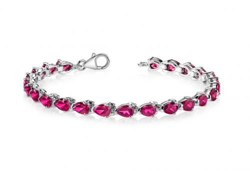 Ruby & Oscar Ruby Tennis Bracelet