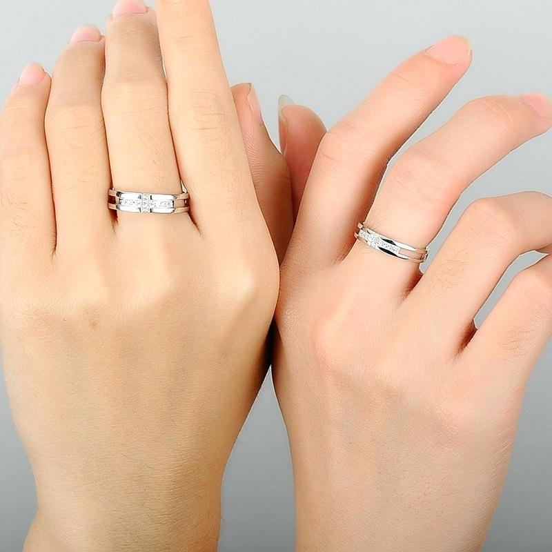cross ring for her and him
