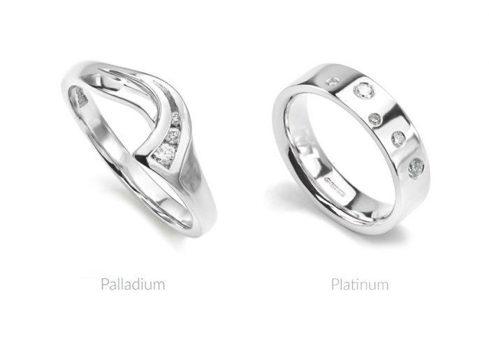 palladium vs platinum rings