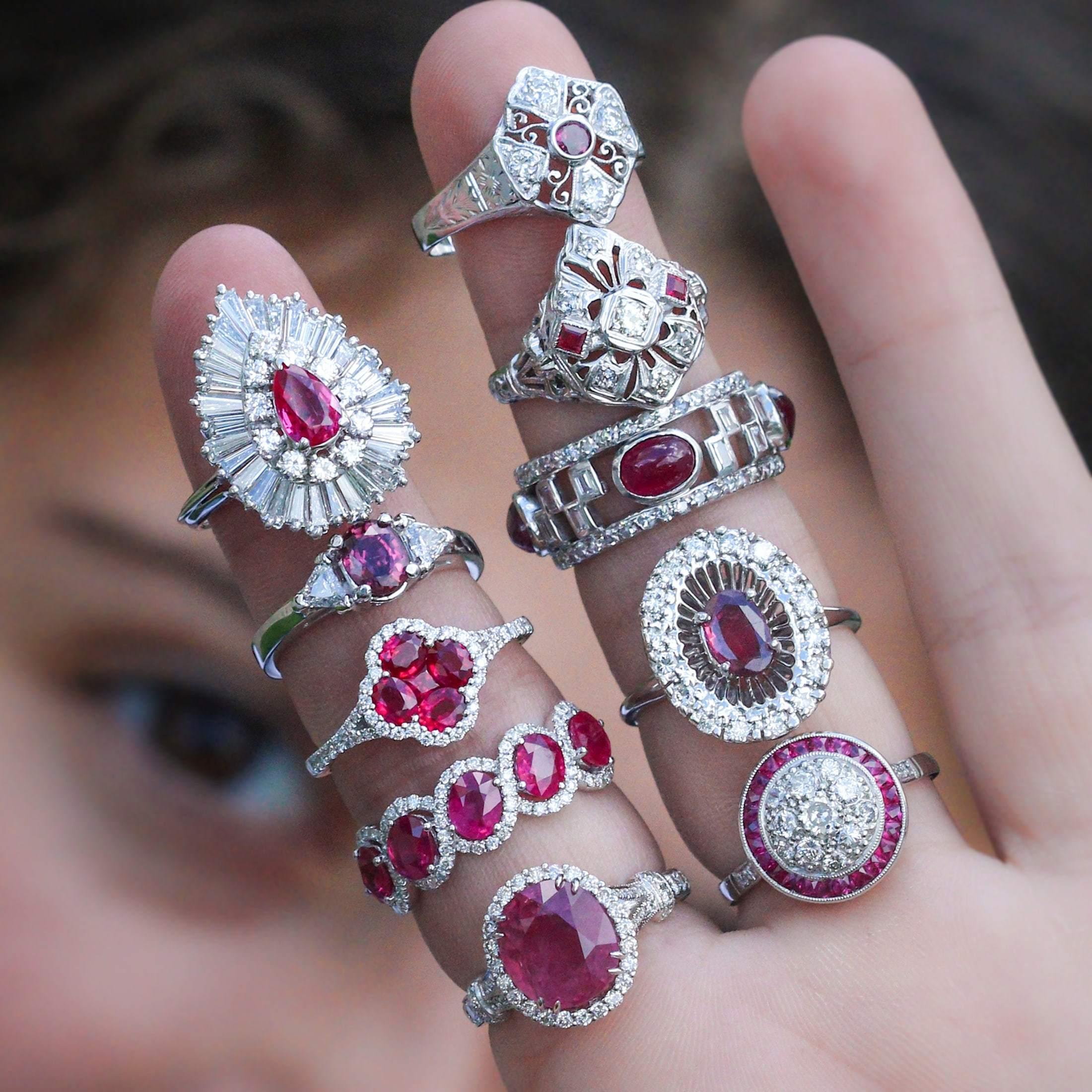 Ruby Gemstones Guide- Jewellery Gemstone Guide   H.Samuel