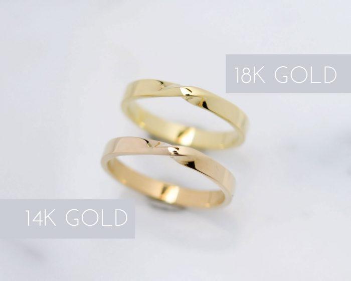 14k gold vs 18k gold