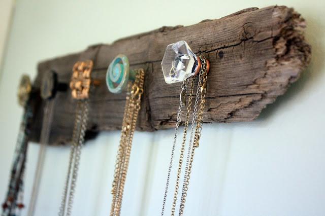 doorknobs jewelry display