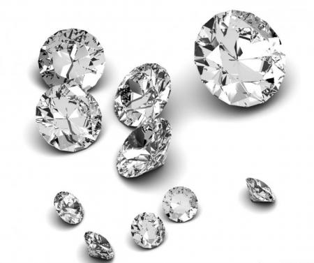 White sapphires