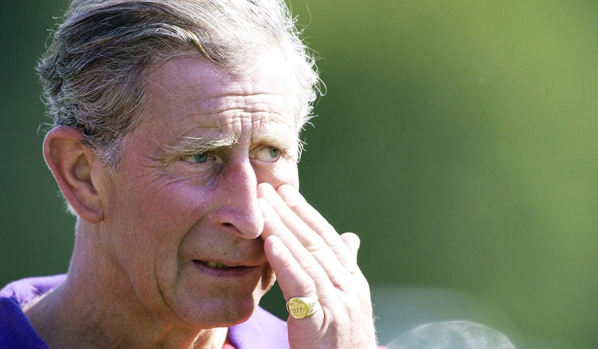 Prince Charles pinky ring