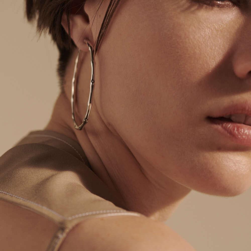 how to wear bamboo earrings