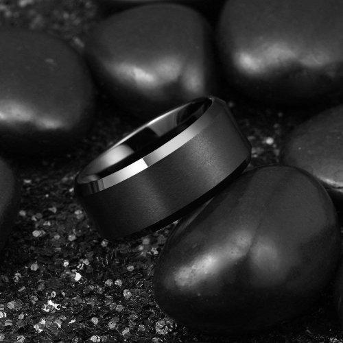 King Will BASIC Tungsten Ring