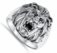 Sac Silver Great Lion Ring