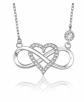 BlingGem Diamond Heart Necklace