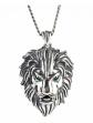 Jeulia Lion Sterling Silver Necklace