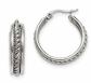 Black Bow Jewelry Co. Hoop Earrings