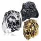 Eosing Stainless Steel Roaring Lion Ring
