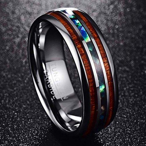 Vakki Tungsten Ring for Men