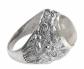 NOVICA Moonstone 'Lion Charisma' Ring