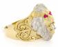 Jewelry Liquidation 10k Gold Lion Head Ring