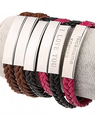10 Engraved Bracelets that Every Guy Will Love!