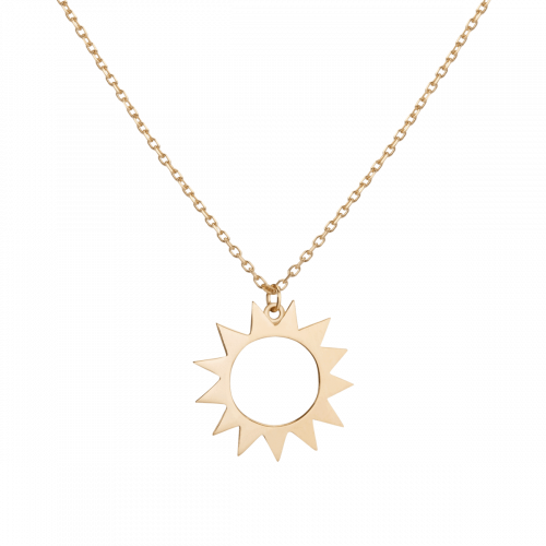 Aurate Guiding Light Sun Necklace