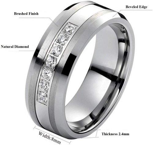 AX Jewelry Carbide Diamond Ring Info