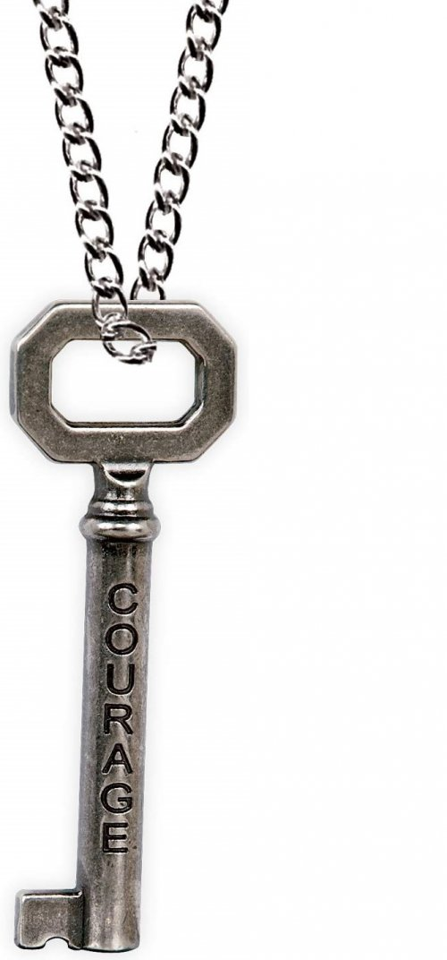 Angelstar 13831 Courage Strength Key Necklace