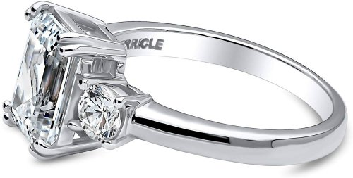 Silver ring side