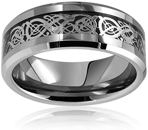 Bling Jewelry Tungsten Celtic Ring Collection