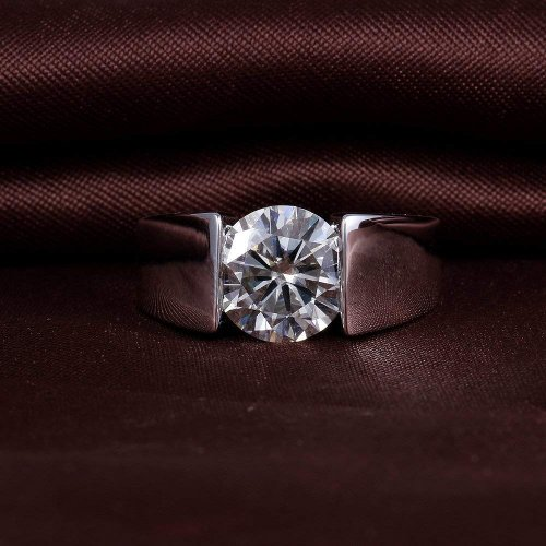 Silver ring for men