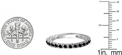 Dazzlingrock Collection 14K Ring sides