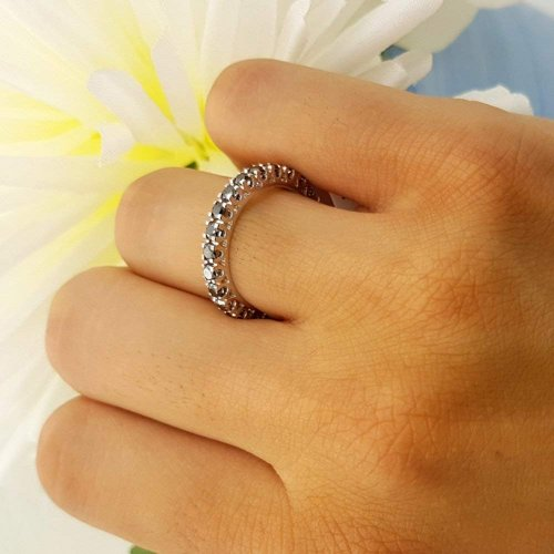 Dazzlingrock Collection 14K Ring on Hand
