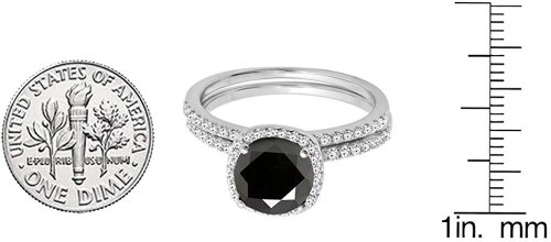 Dazzling Rock Black Diamond Ring