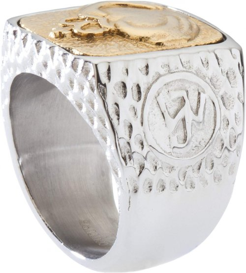Silver ring size