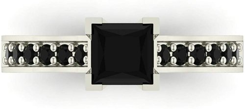 Glitz Design Silver Ring Collection