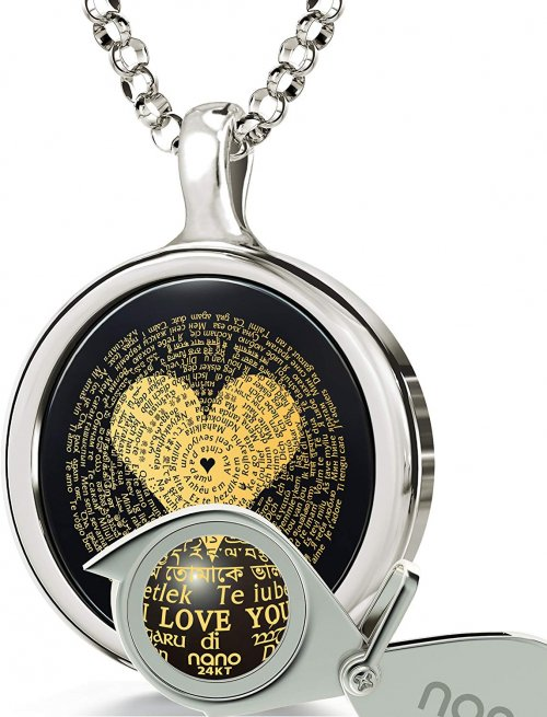 I Love You Necklace Collection
