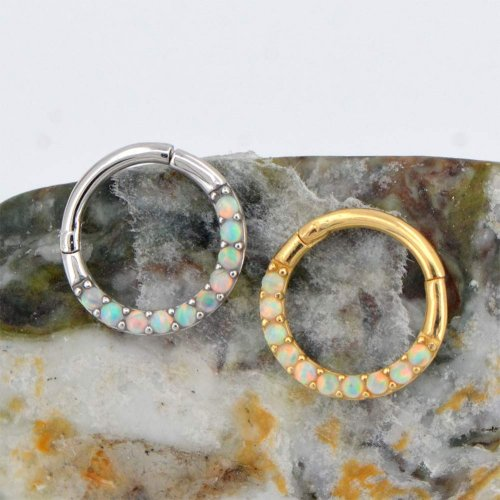 Jewseen 14Kt Gold Opal Collection