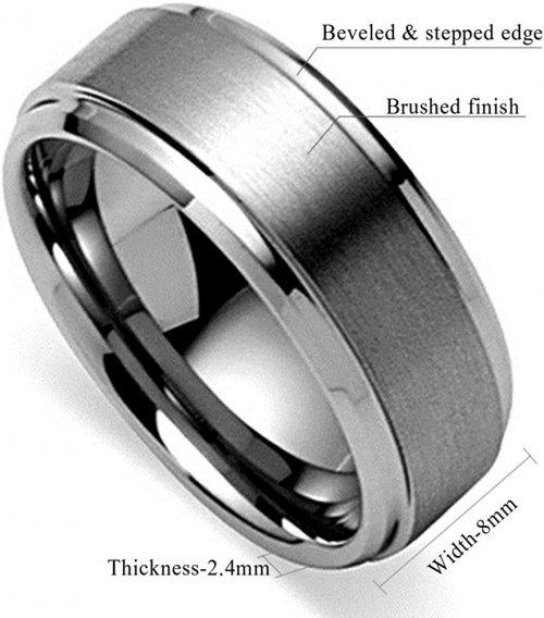 Black carbide ring