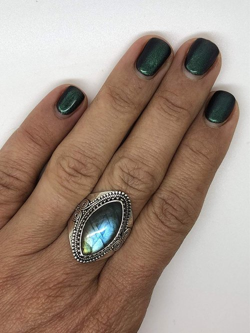 Koral Jewelry Gipsy Ring  on Model hand