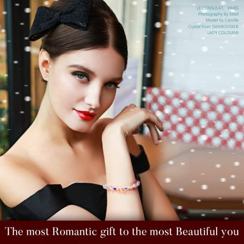 Girl with a Swarovski bracelet