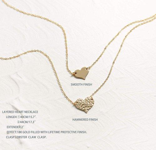 Mevecco Love Necklace Pendant Collection