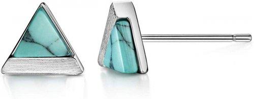 Mints Turquoise Stud Earrings
