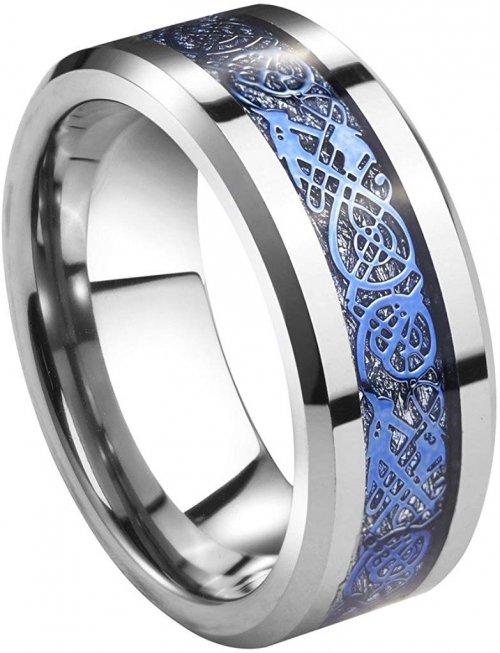 Queenwish Meteorite Ring