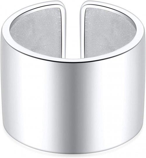 SILBERTALE 14mm Wide Open Finger Ring