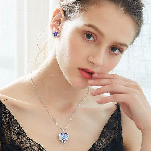 SNOWH Sterling Silver Pendant Necklace Model