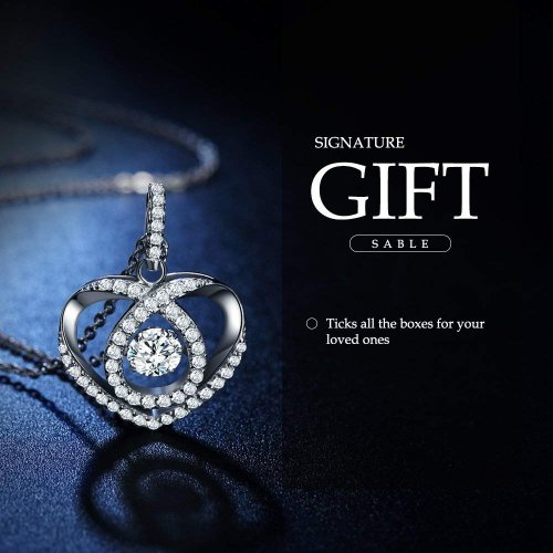 Sable Pendant Necklace Gift